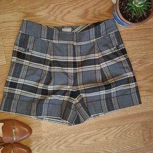 H&M flannel shorts
